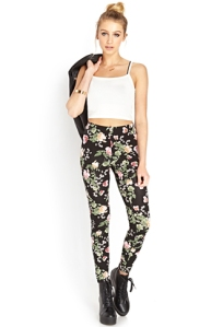 Dreamy Floral Leggings, Forever 21. $12.80